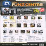 Funz Centre Games PS4 Playstation 4, Xbox 360, Wii, Wii U, PC, 3DS, PS Vita, Kinect