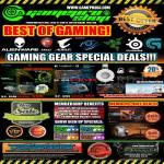 Gaming Gear, Logitech G710, Razer Spectre Maruder, Steelseeries