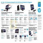 Desktop PCs, AIOs, Monitors, Envy Recline K014d, K102d, Pavilion Slimline 400-337d, 400-235d, 400-265d, TouchSmart P021d, P022d, H011d, Envy 27, X2401, 700-292d, 810-192d