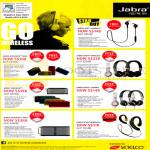 Jabra Bluetooth Headsets, Speakers, Rox, Revo, Sport, Wireless, Revo Corded, Solemate, Mini, Max