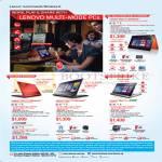 Notebooks Yoga 11s Ultrabook, Flex 2 14, Flex 2 15, Miix 2 11 Tablet