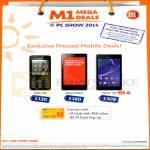 Mobile Prepaid Nokia 301, Xiaomi Redmi, Sony Xperia M2