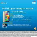 Mobile Samsung Galaxy S5 Citibank Citi Rebates