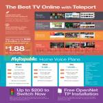 Home Voice Plans, TV Online With Teleport
