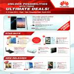Newstead Huawei Mobile Phones, Wifi Routers, MediaPad X1, Ascend G740, G6, Honor 3X, 3C, WS330, E5730, Media Q