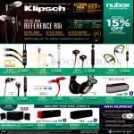 Klipsch Headphones, Headsets, X11i, X7i, X4i, A5i, S4A, S3M, Status, GIG, Promedia 2.1 Speakers, KMC1, KMC3