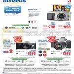 Digital Cameras Pen E-PL6, Pen E-P5, OM-D E-M5