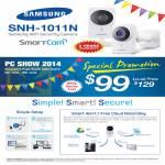Samsung Wifi Security Camera SNH-1011N