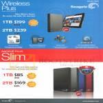 External Storage Mobile Office Storage Wireless Plus, Backup Plus Slim, 1TB 2TB