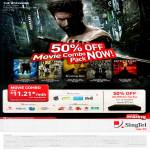 Singtel Mio TV Movie Combo, 50 Percent Off DVR