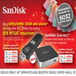 Sandisk Connect Wireless Flash Drive, Media Drive