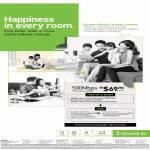 Starhub Broadband Fibre 500Mbps 100 Dollar Off Handset