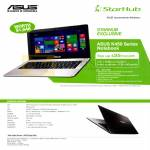 Fibre Broadband Asus K450LDV-WX258H Notebook Specifications