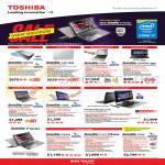 Notebooks Satellite NB10t, L40, S40t, U840W, U840t, U40t, P840t, P50, P50t, Portege Z10t