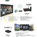 Kuro Smart Player, Kuro TV