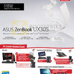 Notebooks Highlights ZenBook UX305, ROG G20, Transformer Chi Series, ROG G751, Desktop PWP