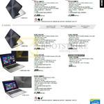 Notebooks K501LX-DM017H, K501LX-DM054H, X302LJ-FN017H, X302LJ-FN016H, X455LJ-WX058H, X555LJ-XX200H, X550JX-DM009H