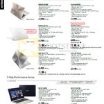 Notebooks Zenbook, K Series, UX303LB-DQ058H, UX303LB-R4075H, UX303LA-R0332H, UX305FA-FC051H, UX501JW-FI177H, UX501JW-CN212H, K401LB-FA007H, K455LB-WX013H