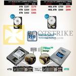 Internal HDD HGST Deskstar Ultrastar 1TB 2TB 3TB 4TB 5TB 6TB