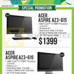 Newstead AIO Desktop PCs Aspire AZ3-615