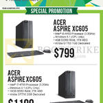 Newstead Desktop PCs Aspire XC605