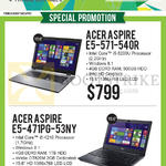 Newstead Notebooks Aspire E5-571-540R, E5-471PG-53NY