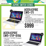 Newstead Notebooks Aspire SW5-171, SW5-171P-815Q