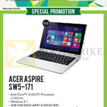 Newstead Notebooks Aspire SW5-171