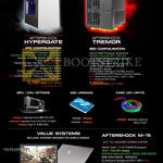 Notebooks Desktop PCs Hypergate, Tremor, M-15