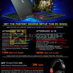 Notebooks SM-15, W-15, M7 Phantom Gaming Headset