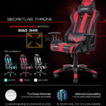 Secret Lab Throne Chair Red Edition
