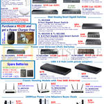 TP-Link Networking Gigabit Switches, Ethernet Switches, USB 3.0 Hub, Antennas, 200Mbps Power Line Adapters Super Deals