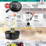 VC2000 Smart Robotic Vacuum Cleaner, ABM750 Bread Maker, ASM800 Soup Maker, MF801C MultiFunction Cooker, AEK1700 Electric Kettle