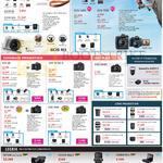 Digital Cameras DSLR EOS M3 760D 750D 6D 7D Mk II 1200D 70D 700D, Legria HF G30 Mini X, Lenses