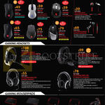 CMStorm Cybermind Gaming Mouse, Alcor, Recon, Inferno, Mizar, Havoc, Reaper, Earphones, Headsets, Pulse-R, Sirus S, Ceres-300 500, Mousepads