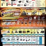 Killer Deals, Free Vouchers, Headsets, Headphones, Webcams, Speakers, Sound Cards, Blaster, Inspire, Recon3D, Arena, Woof, Live, Tactic