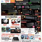 Razer Accessories, Steelseries, Siberia, JBL, Cooler Master CMStorm, Microsoft