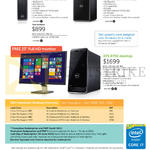 Desktop PCs, Monitors, Inspiron 3000 Series, XPS 8700