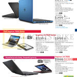 Notebooks Inspiron 15 5000, 13 7000, 14 7000 Series