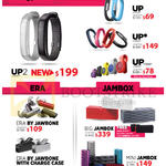 Jawbone UP, UP2, ERA, Jambox