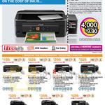 Printers L Series Ink Tank System L210, L350, L355, L455, L550, L555, L850