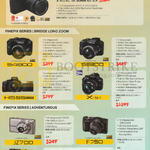 (No Prices) Digital Cameras S4800, S8200, HS55, X-51, JZ700, F750, XP70