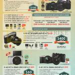 Fujifilm Digital Cameras X-T1, X-E2, X-A2, X-M1