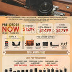 Fujifilm Digital Cameras X-T10, Lens PWP Offers, Free Gifts, X-T10