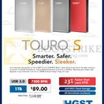 Touro S Hard Disk Drive 1TB