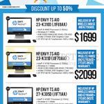 Newstead AIO Desktop PCs Envy TS AIO 23-K310D J1F69AA, 23-K311D J1F70AA, 27-K305D J1F71AA