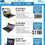 Newstead Notebooks Pavilion 14 V239TX, V237TX, V238TX, Pavilion 15 P257TX, P258TX, P259TX, Envy 15 Q014TX-Touch