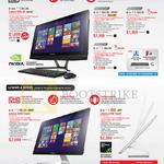 AIO Desktop PCs B50-30, A540 Touch, A740 Touch
