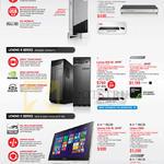 Desktop PCs Q190, H30-50, C40-30, C560
