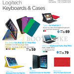 Nubox EpiCentre Keyboards Cases Type Plus, IPad Air 2 Any Angle, Keyboard Folio Mini, Fabricskin, Keys-to-go